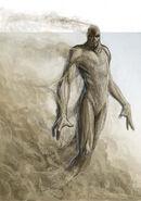 Sand golem - Ben Wootten