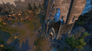 Fallen Tower Tavern Scrying Stone View