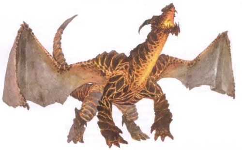Pyroclastic dragon