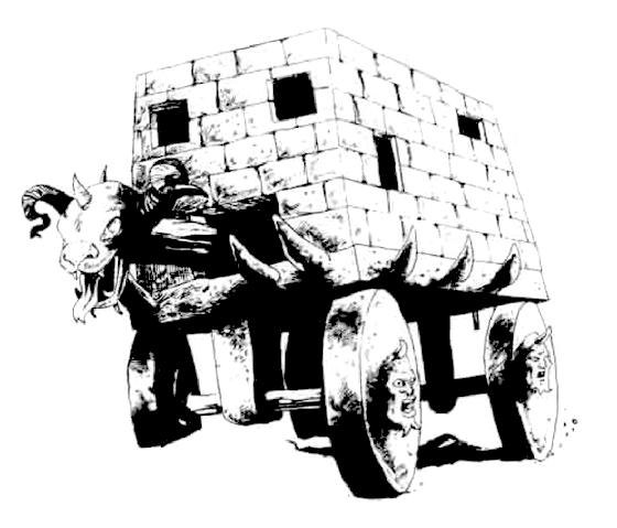 Stone juggernaut