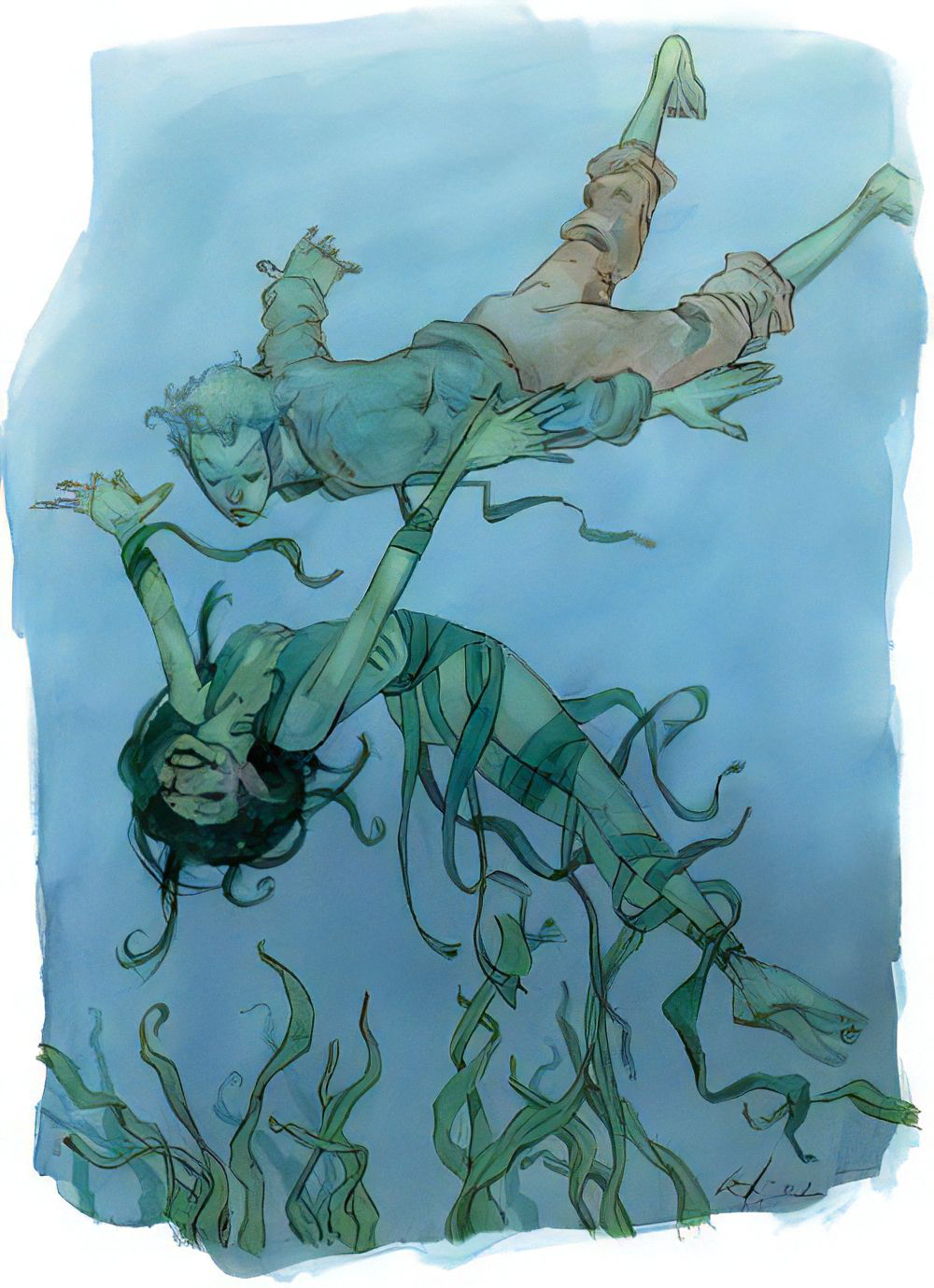 Aquatic elf