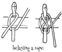 Belaying pin