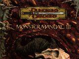 Monster Manual III 3rd edition