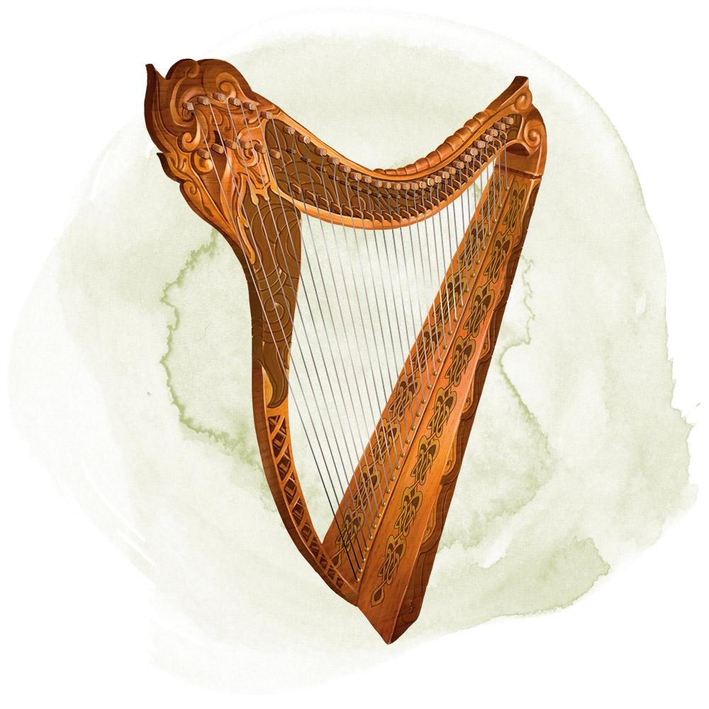 Ollamh harp