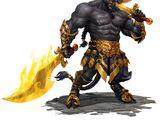 Belt of fire giant strength