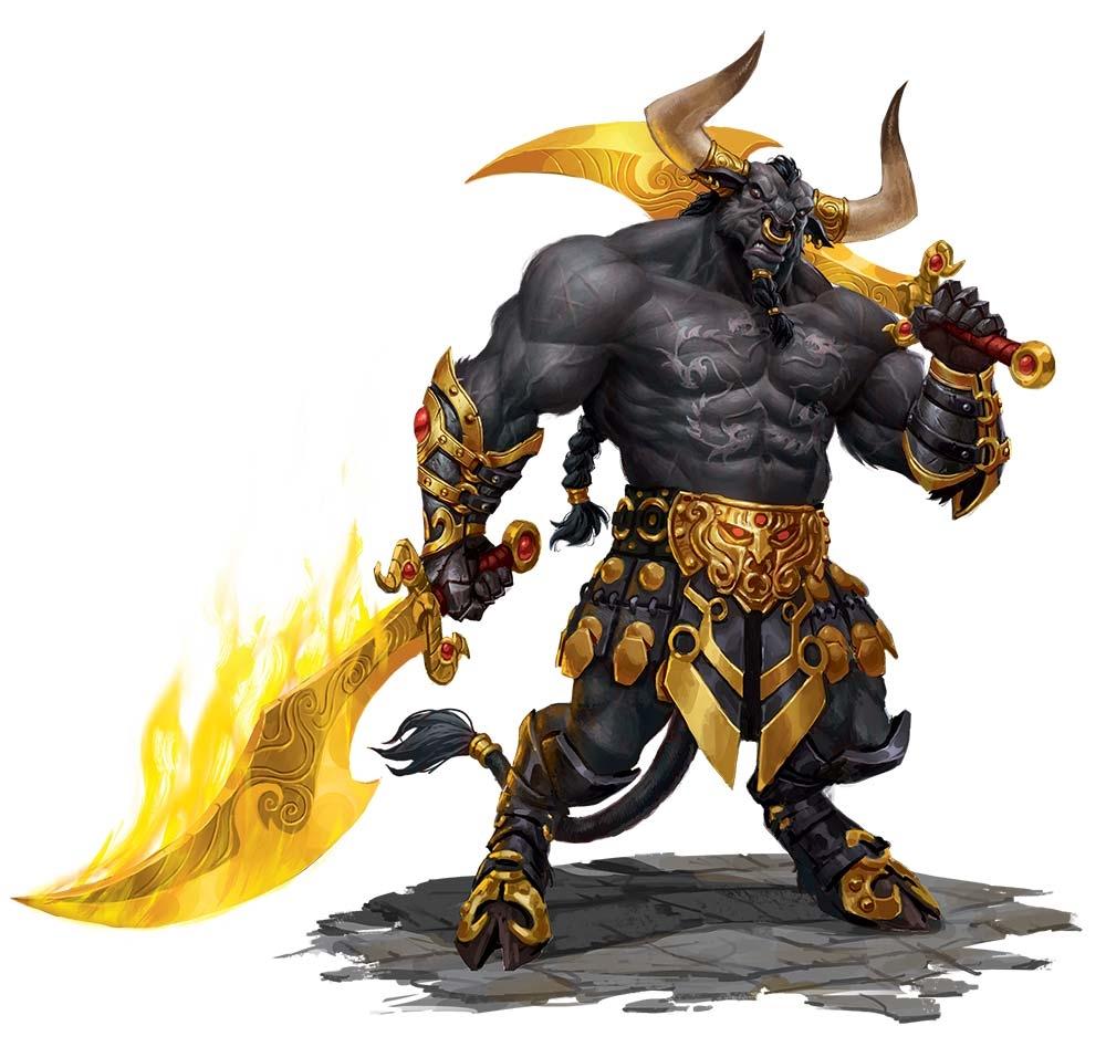 Gauntlets of flaming fury