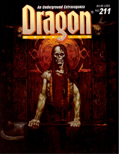 Dragon magazine 211
