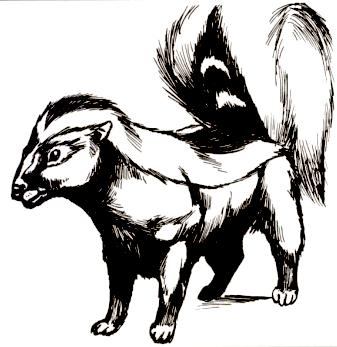 Giant skunk