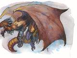 Rust dragon