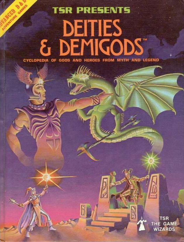 Deities & Demigods 1st edition