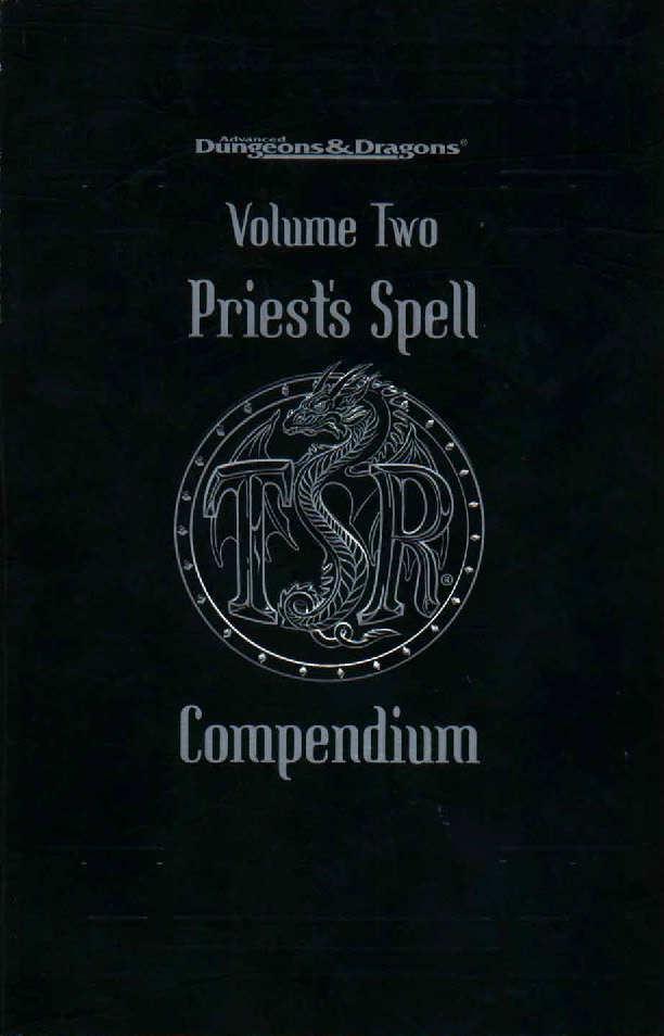 Priest's Spell Compendium Volume Two