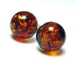 Amber-beads
