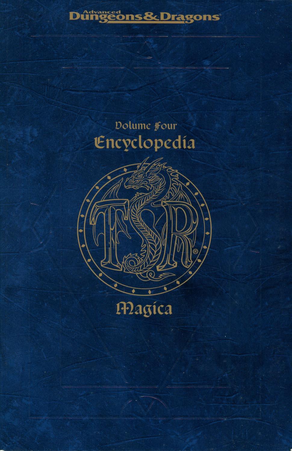 Encyclopedia Magica Volume IV