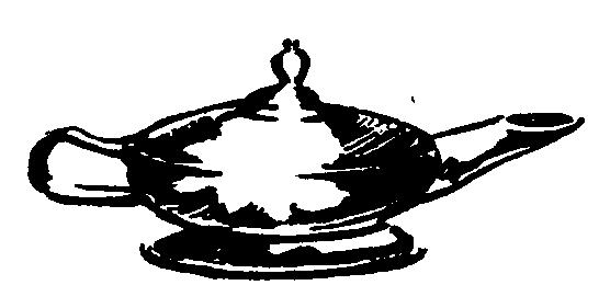 Calishite lamp