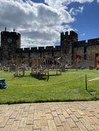 D&D movie Alnwick Castle interior 3