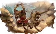Gnolls attack
