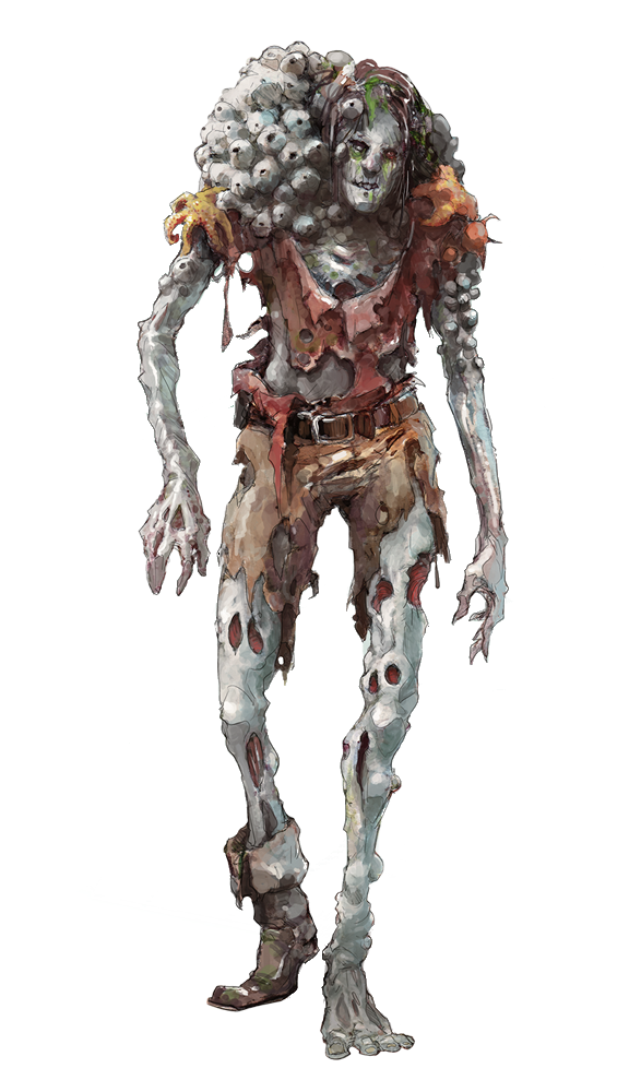 Sea zombie