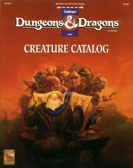 Creature Catalog (revised)
