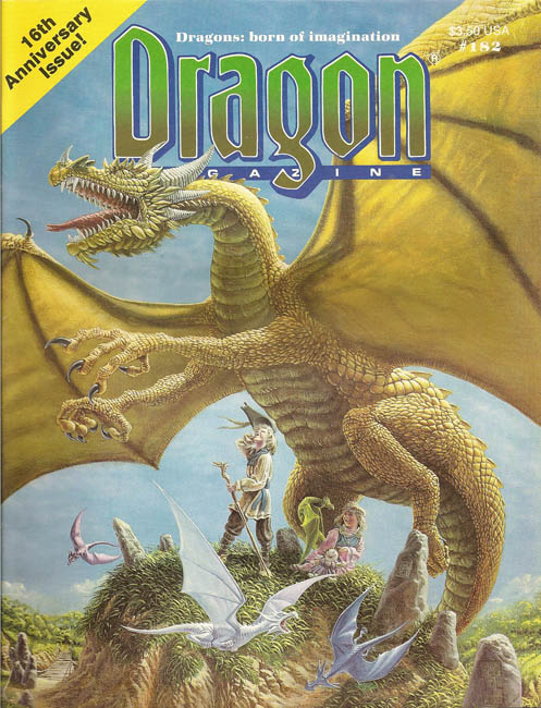Dragon magazine 182
