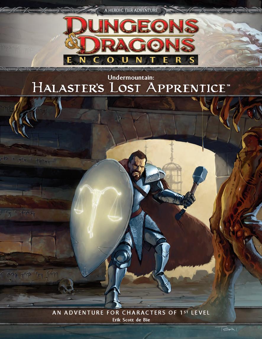 Undermountain: Halaster's Lost Apprentice