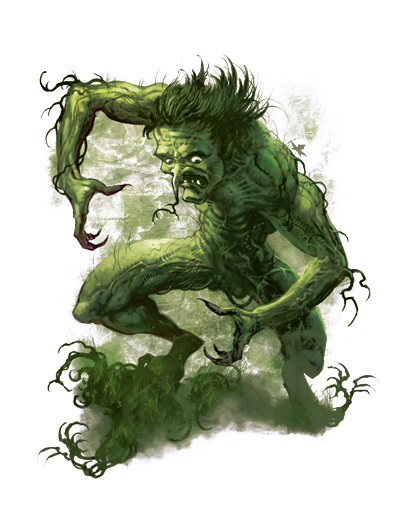 Greenbound creature