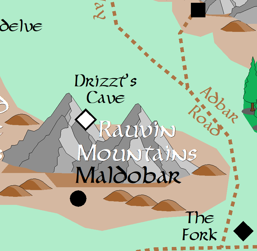 Rauvin Mountains