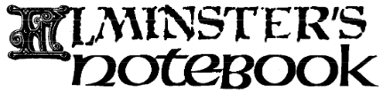 Elminster's Notebook