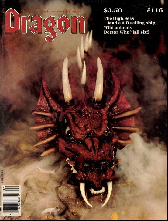 Dragon magazine 116