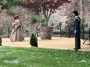 D&D movie Wells Cathedral shooting 2