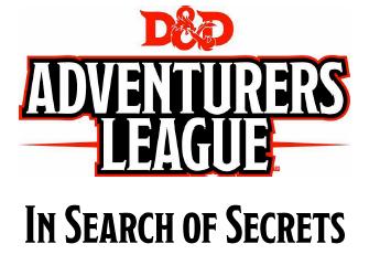 In Search of Secrets