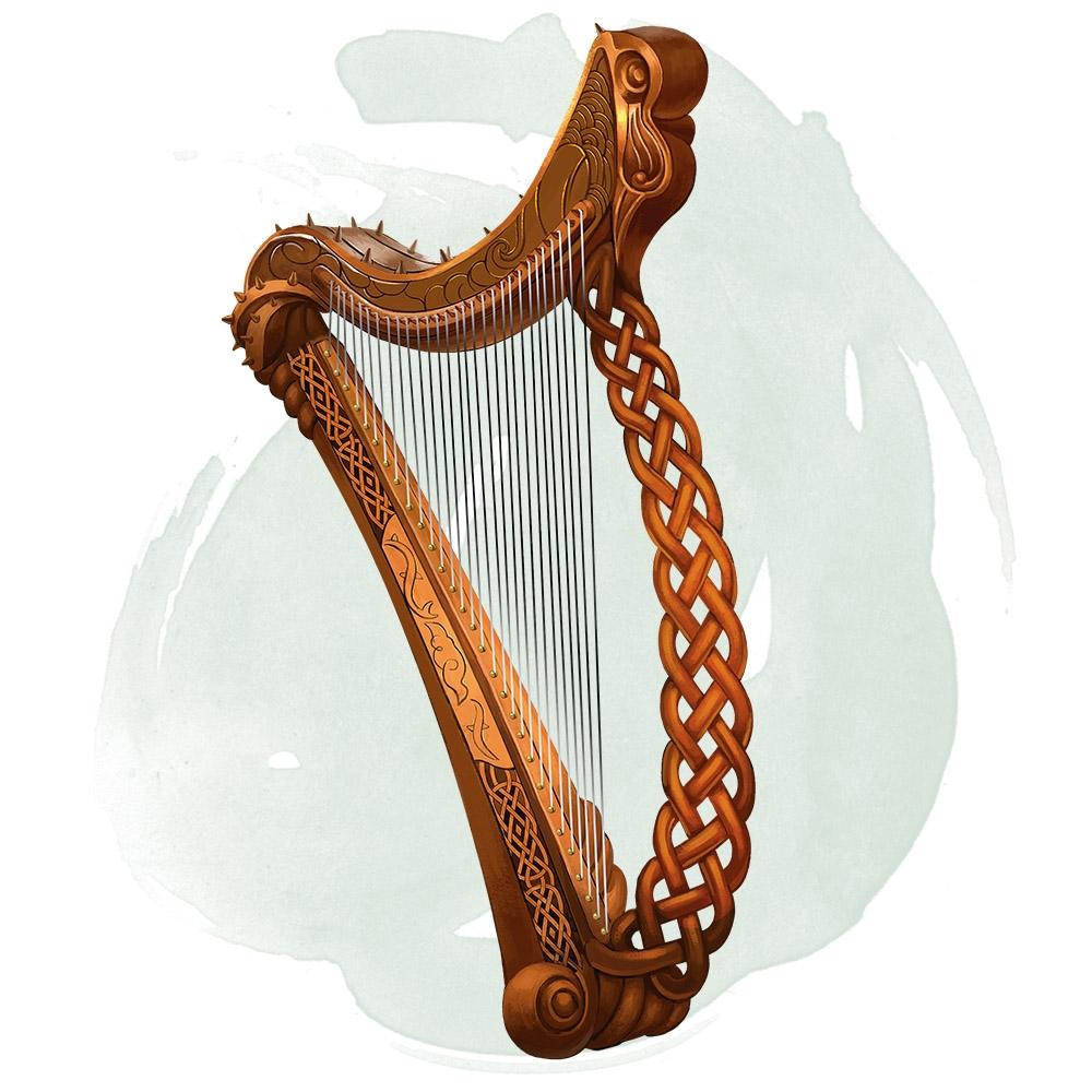Anstruth harp