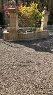 D&D movie Alnwick Castle garden