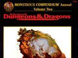 Monstrous Compendium Annual Volume Two