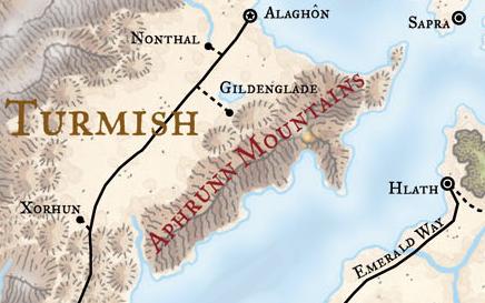 Aphrunn Mountains