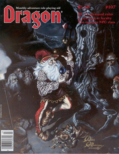 Dragon magazine 107