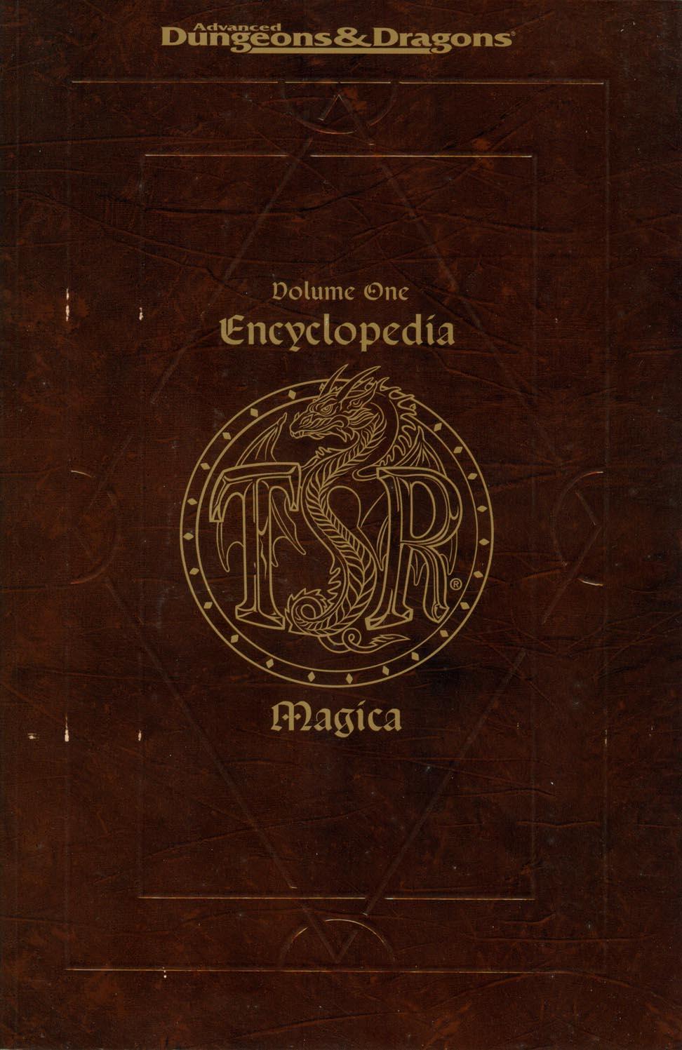Encyclopedia Magica Volume I