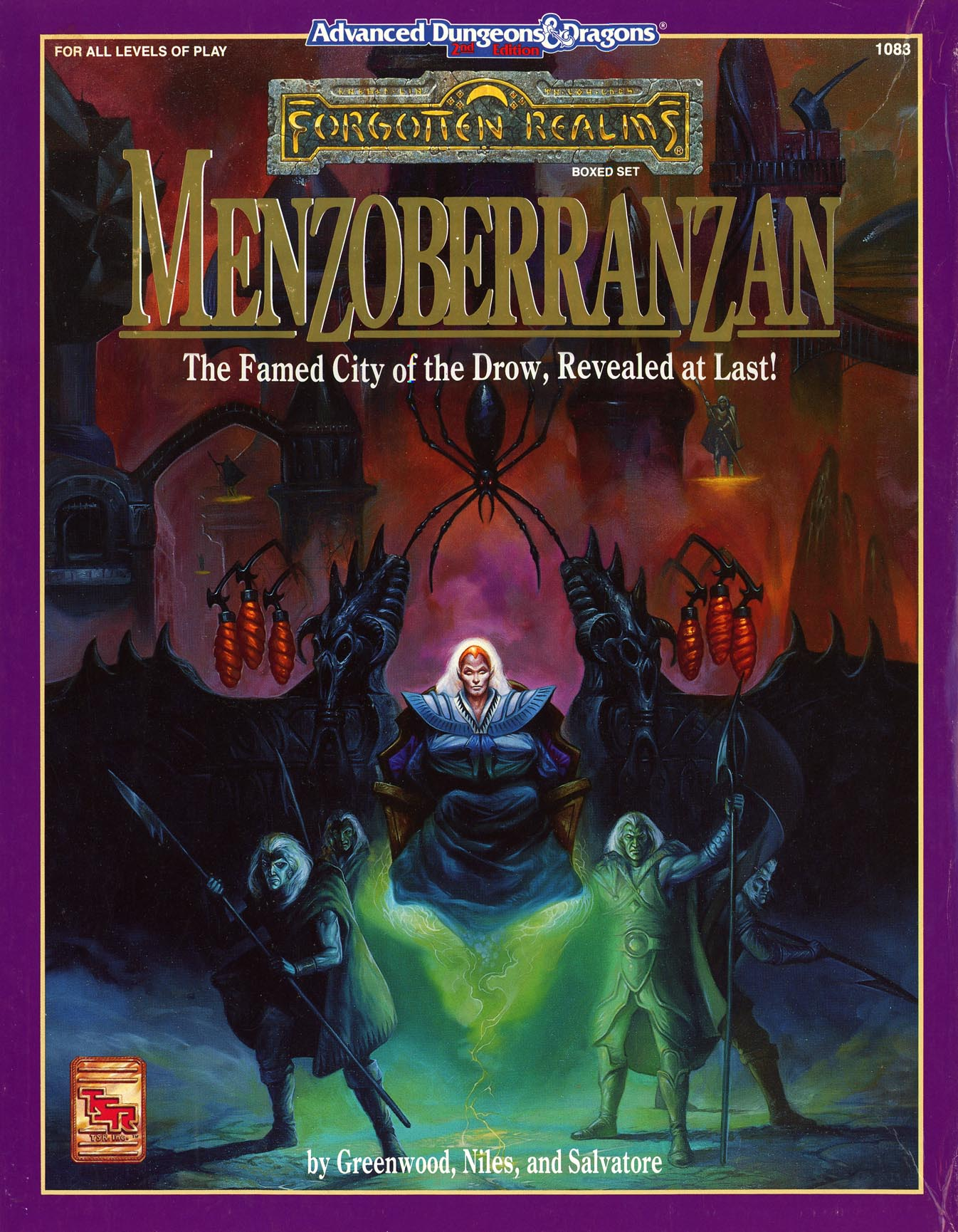 Menzoberranzan (boxed set)