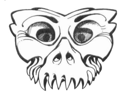 Fanged mask