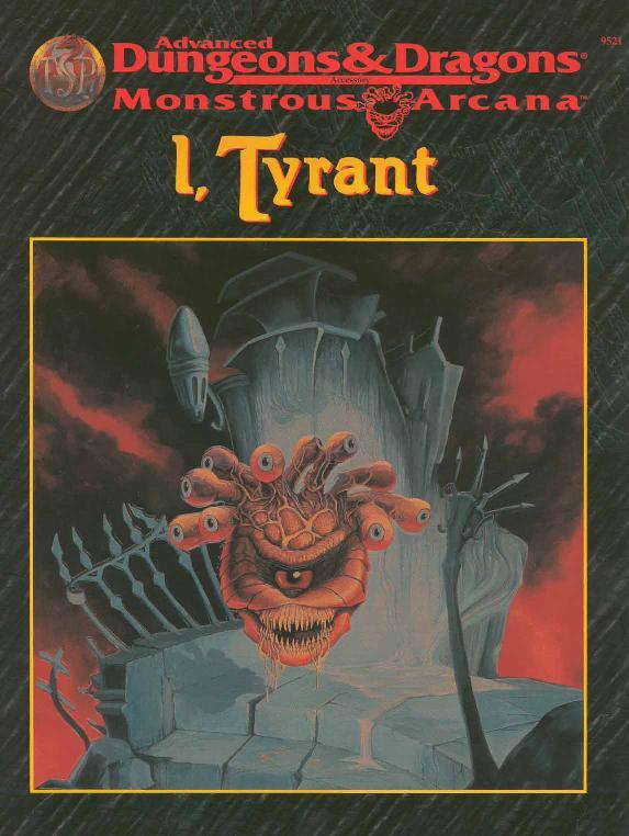 I, Tyrant
