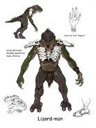 Lizardfolk PoR2 concept