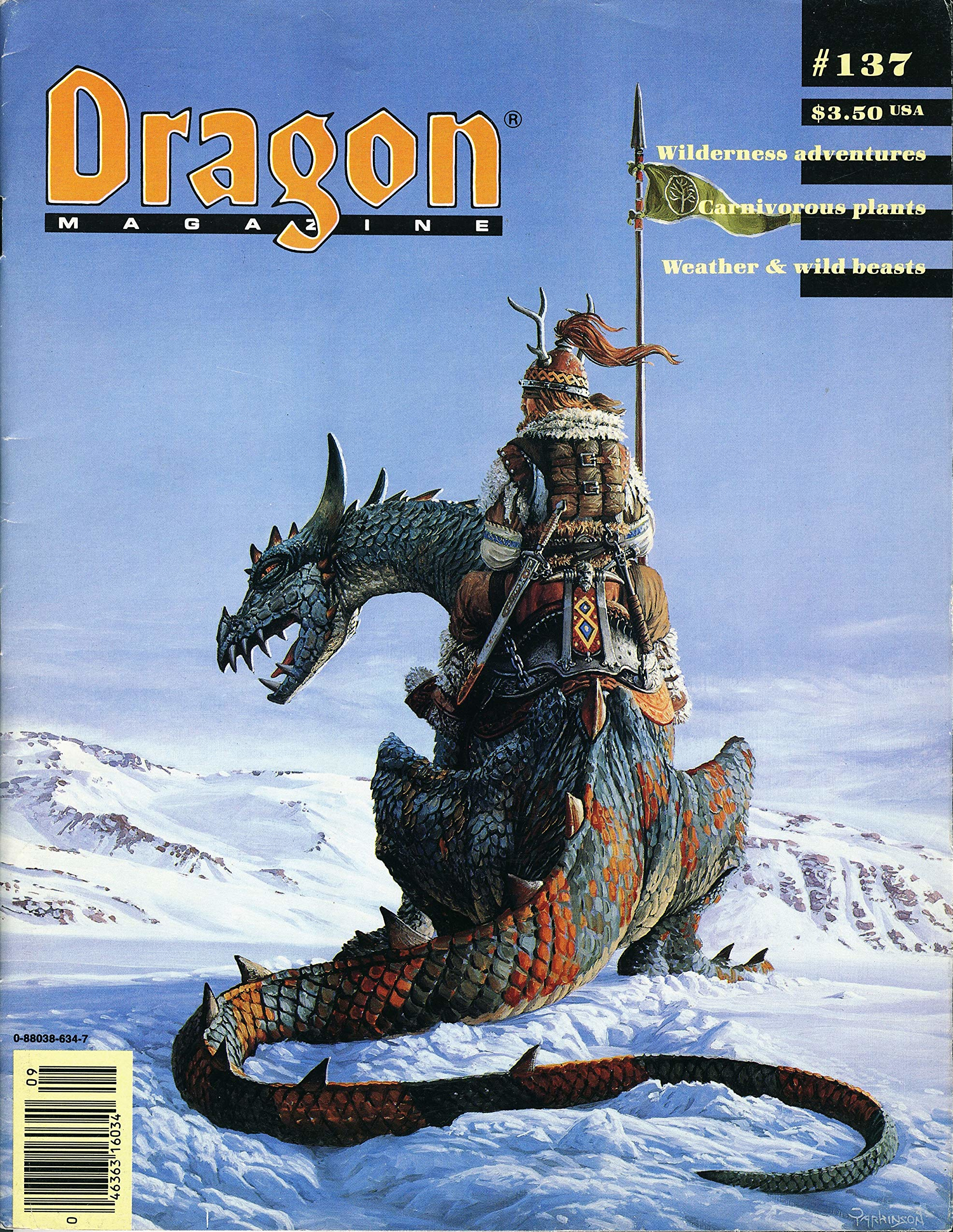 Dragon magazine 137