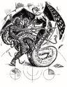 Lillend-Chain Devil Battle