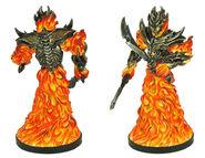 Fire Myrmidon (Painted Miniature)