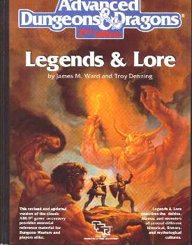 Legends & Lore (2nd edition)