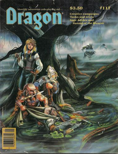 Dragon issues from 1987