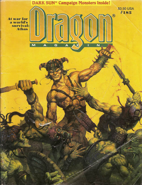 Dragon magazine 185