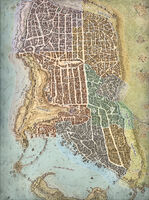 Map of Waterdeep - Lords of Waterdeep