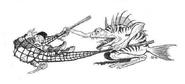 Sahuagin hunter