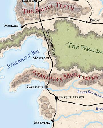 Forest Of Tethir Forgotten Realms Wiki Fandom