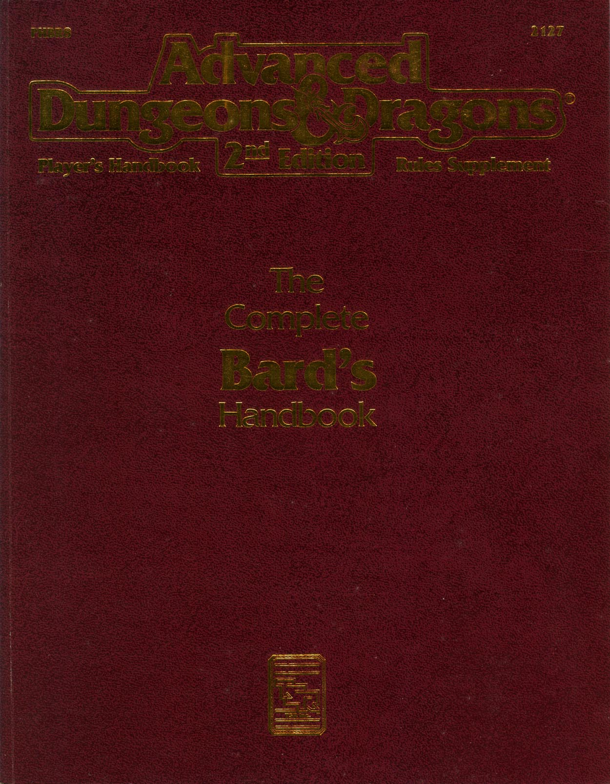 The Complete Bard's Handbook